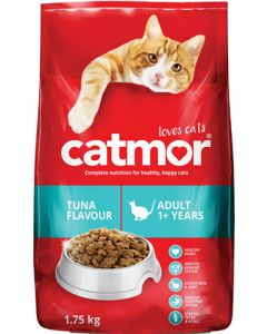 CATMOR ADULT 1+ YEARS TUNA FLAVOUR 1.75KG