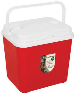 BIG JIM DC0225-RE COOLERBOX RED  25L