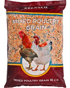 BRENNCO MIXED POULTRY GRAIN 10KG