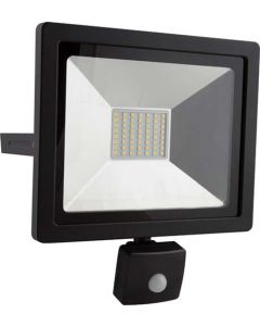 EUROLUX FS254 BLACK 30W LED FLOODLIGHT WITH MOTION SENSOR