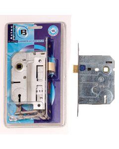 L&B IAZ4CPSABS-B Chrome Aztec 4 Lever SABS Lock