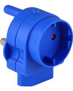 ELECTRICMATE BLUE SCHUKO & EUROMATE ADAPTOR